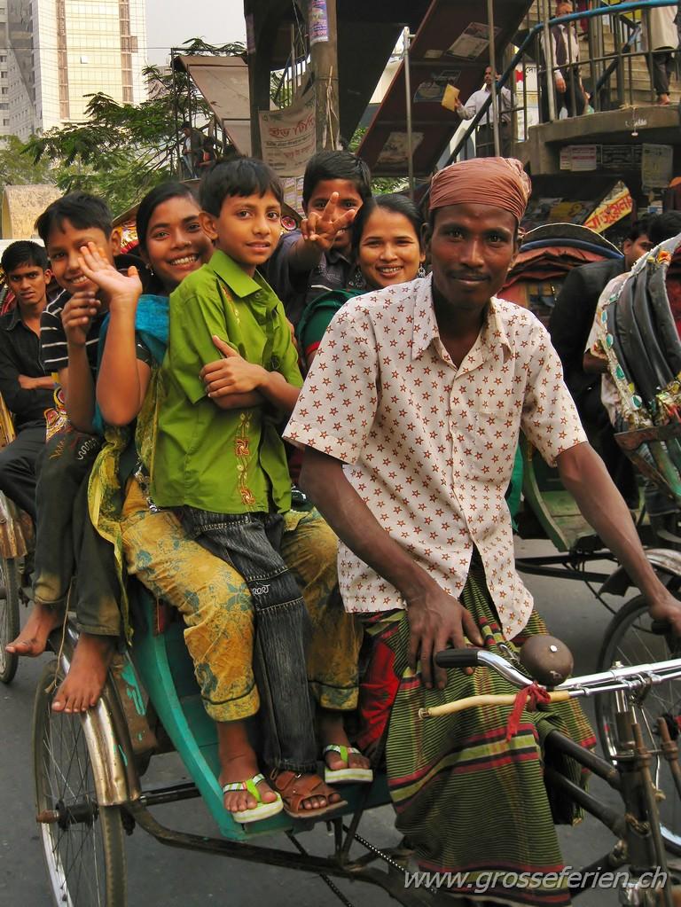 Bangladesh, Dhaka, Ricksaw