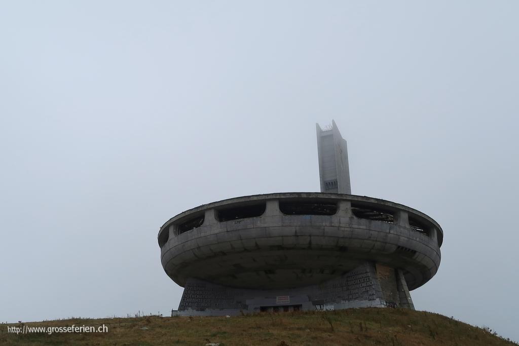 Bulgaria, Buzludzha, Monument