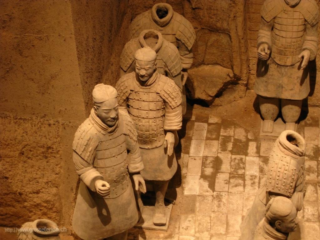 China, Xi'an, Terracotta Armz