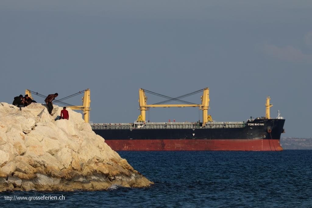 Cyprus, Larnaca, Ship