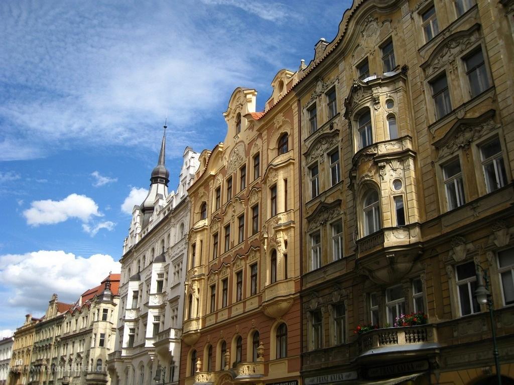Czeck Republic, Praha, Houses