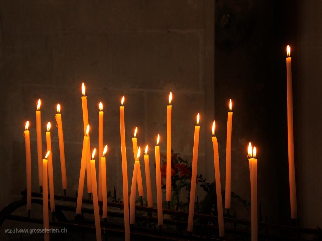 France, Burgundy, Candles