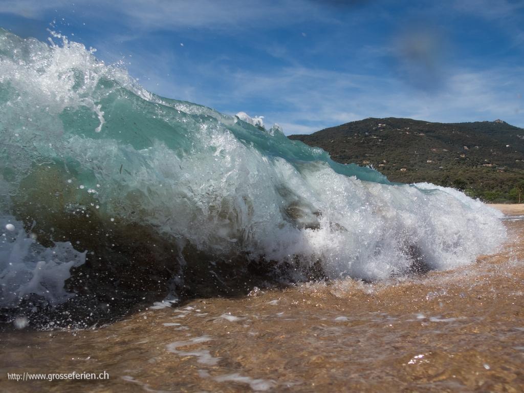 Italy, Corse, Beach, Wave