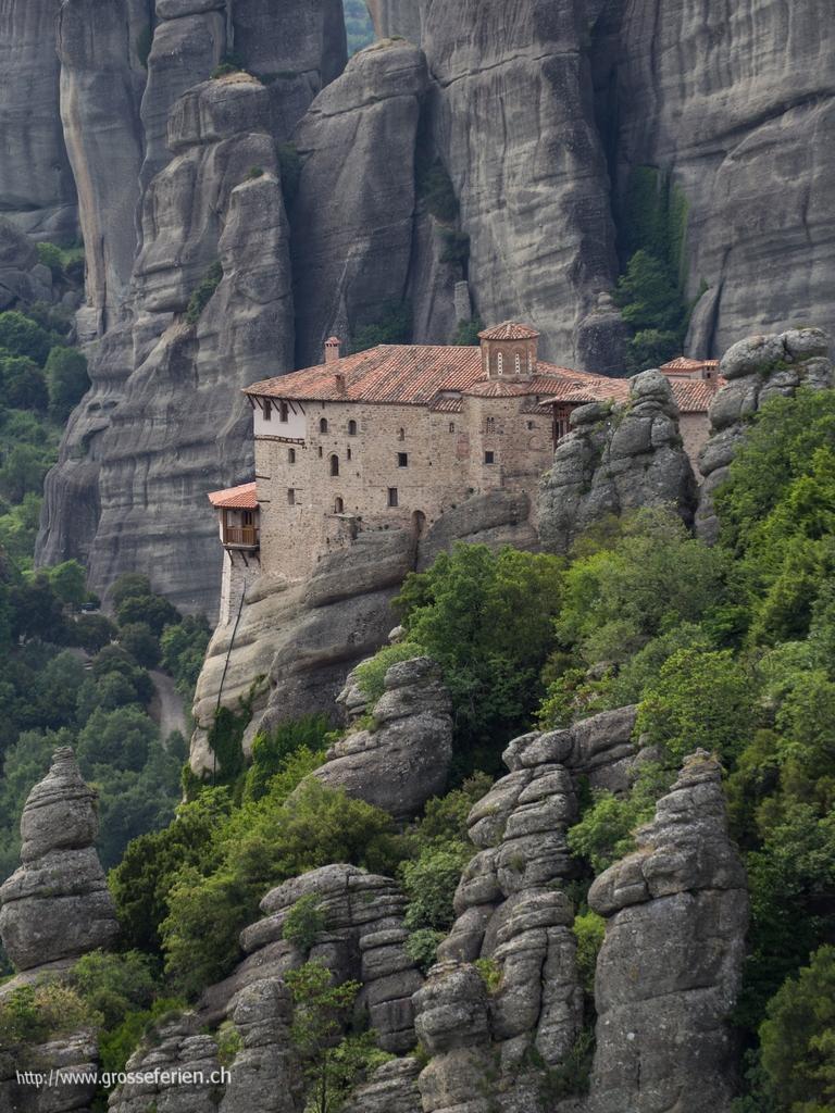 Greece, Meteora, Monastry