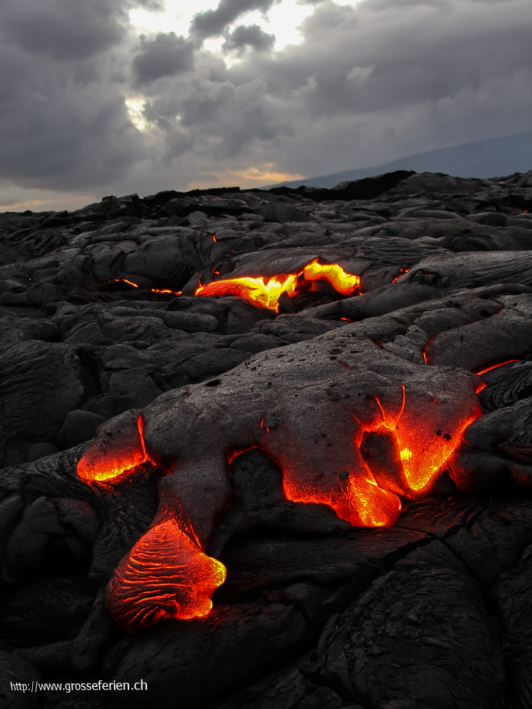 Hawaii, Big Island, Lava
