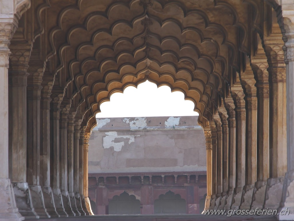 India, Agra, Red Fort