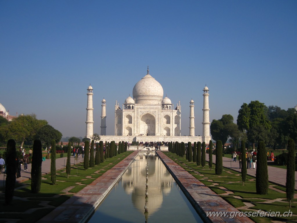 India, Agra, Taj Mahal