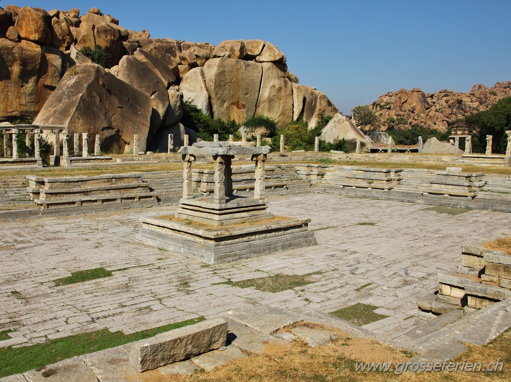 India, Hampi, Temple