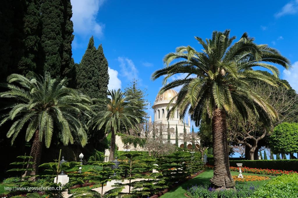 Israel, Haifa, Bahai Gardens