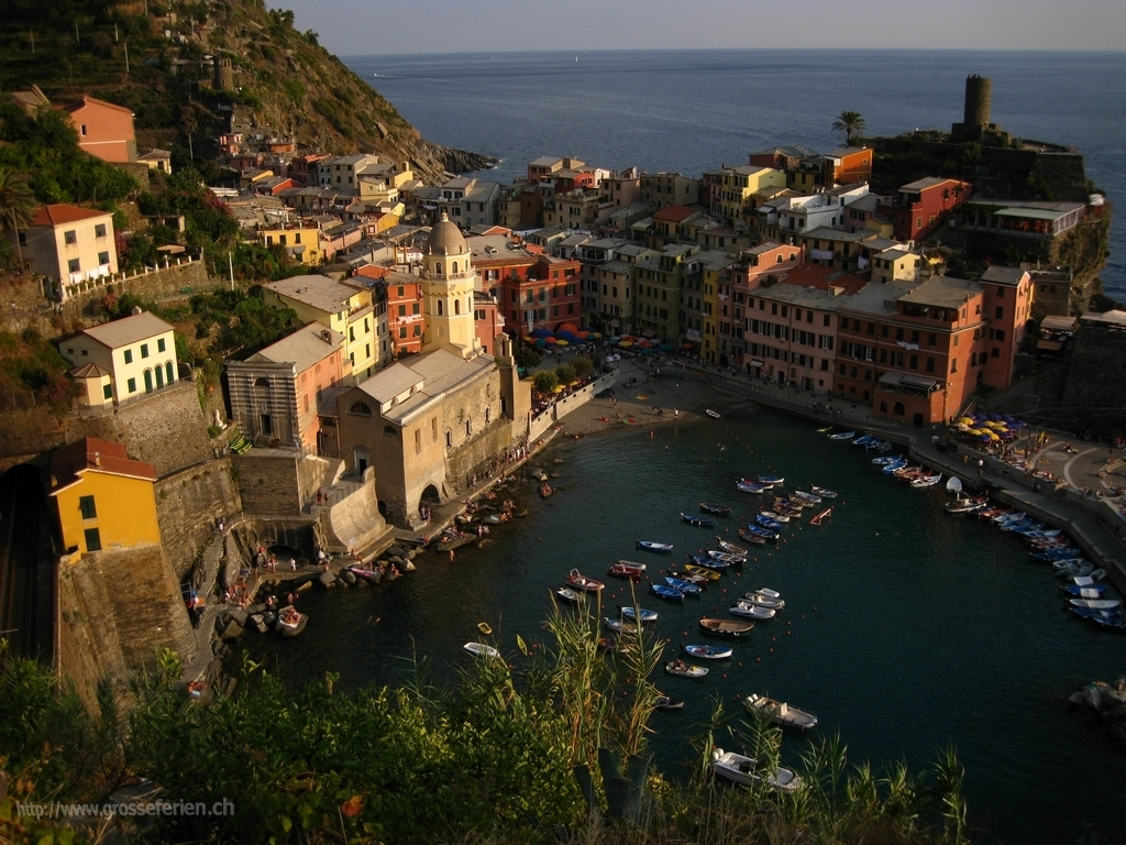 Italy, Cinque Terre, Houses