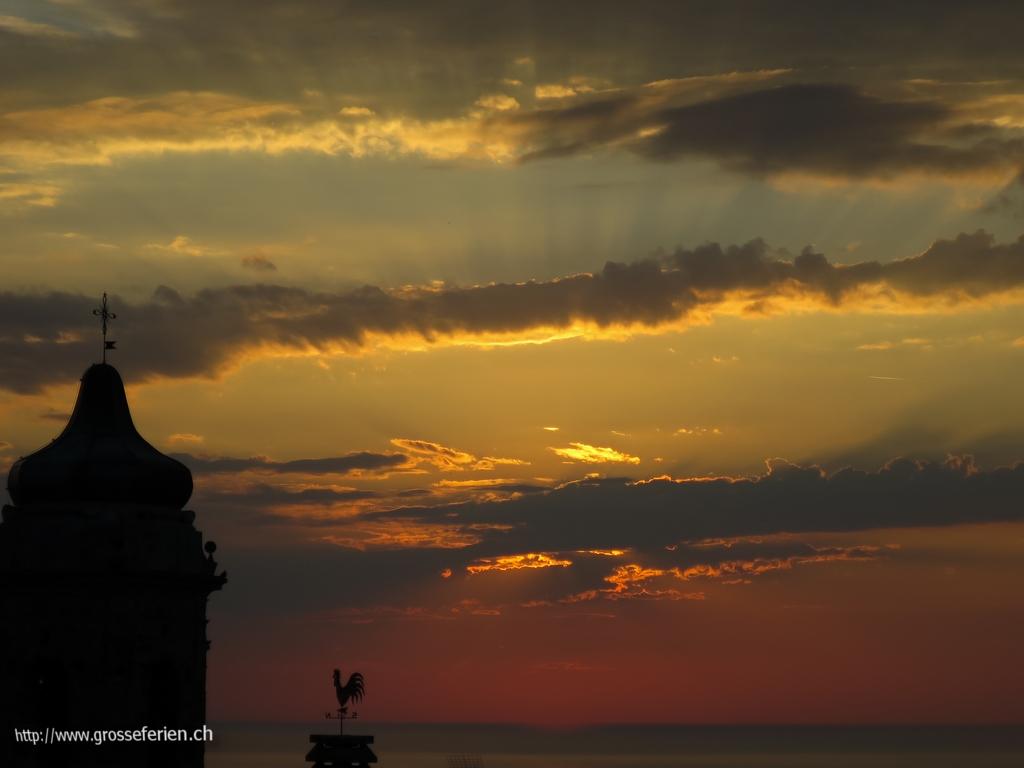 Italy, Costarainera, Sky