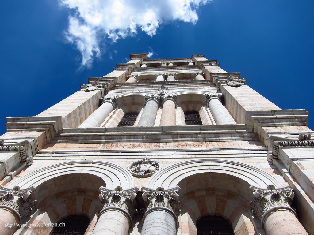 Italy, Ferrara, Church