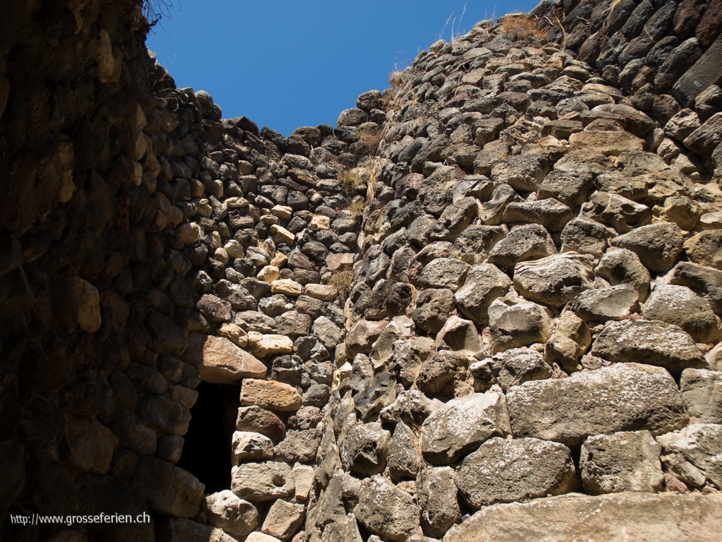 Italy, Sardiniam, Barumini, Ruins