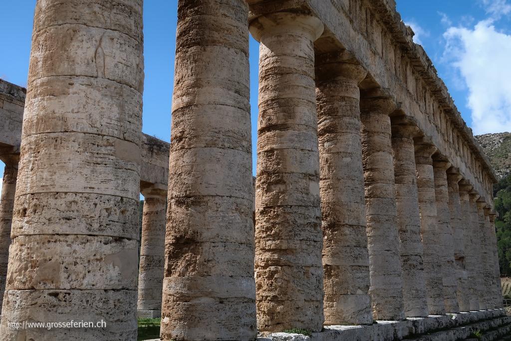 Italy, Sicily, Segesta, Temple