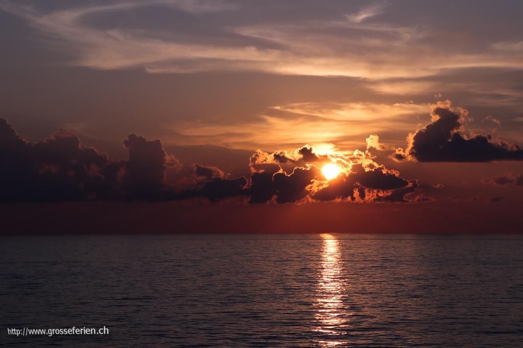 Italy, Sicily, Sunset
