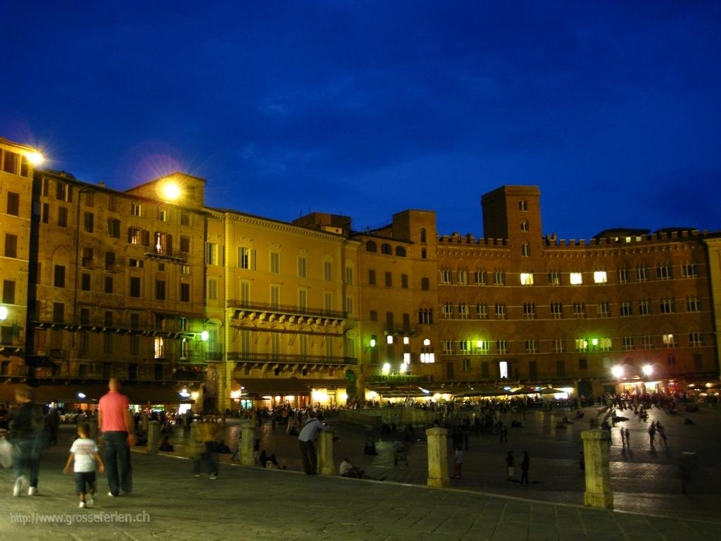 Italy, Siena, Il Campo