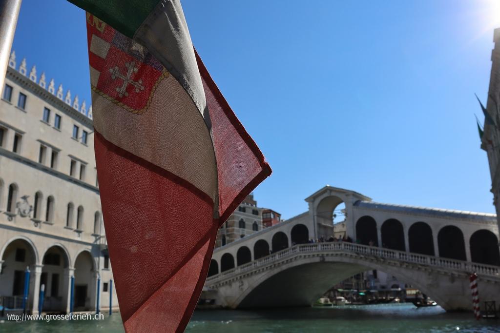 Italy, Venice, Rialto Bridge