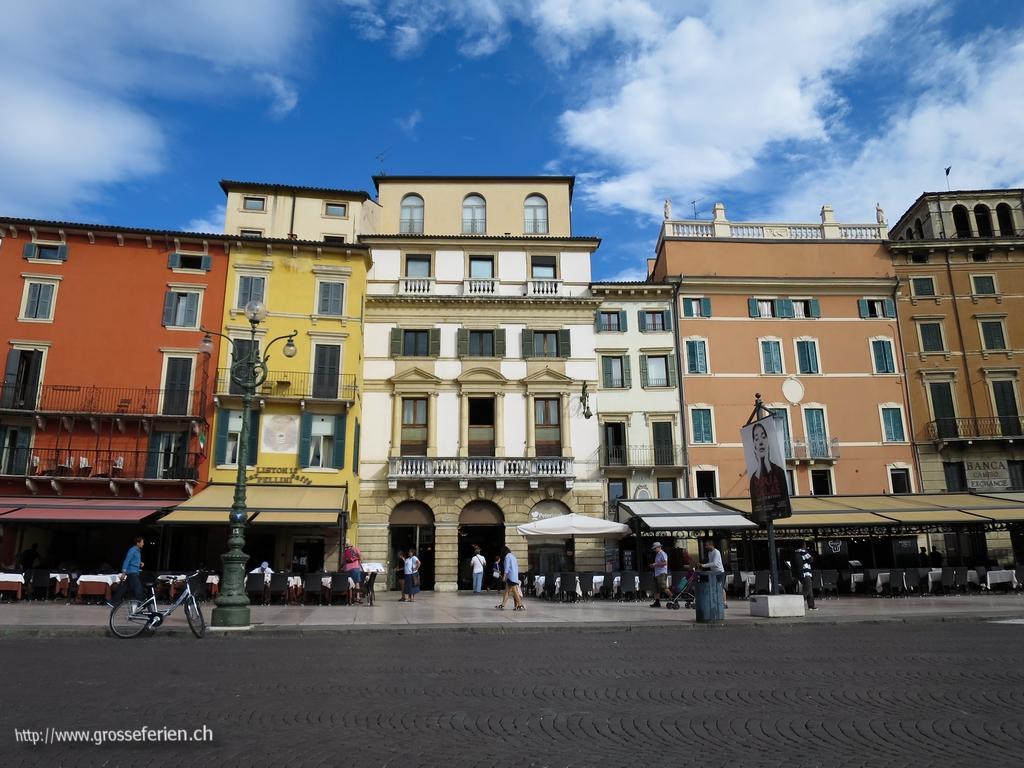 Italy, Verona, Houses