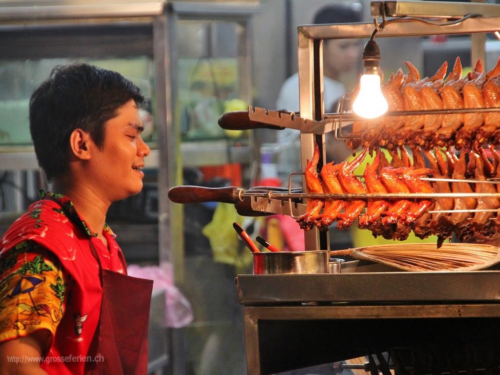 Malaysia, Kuala Lumpur, Food Stall