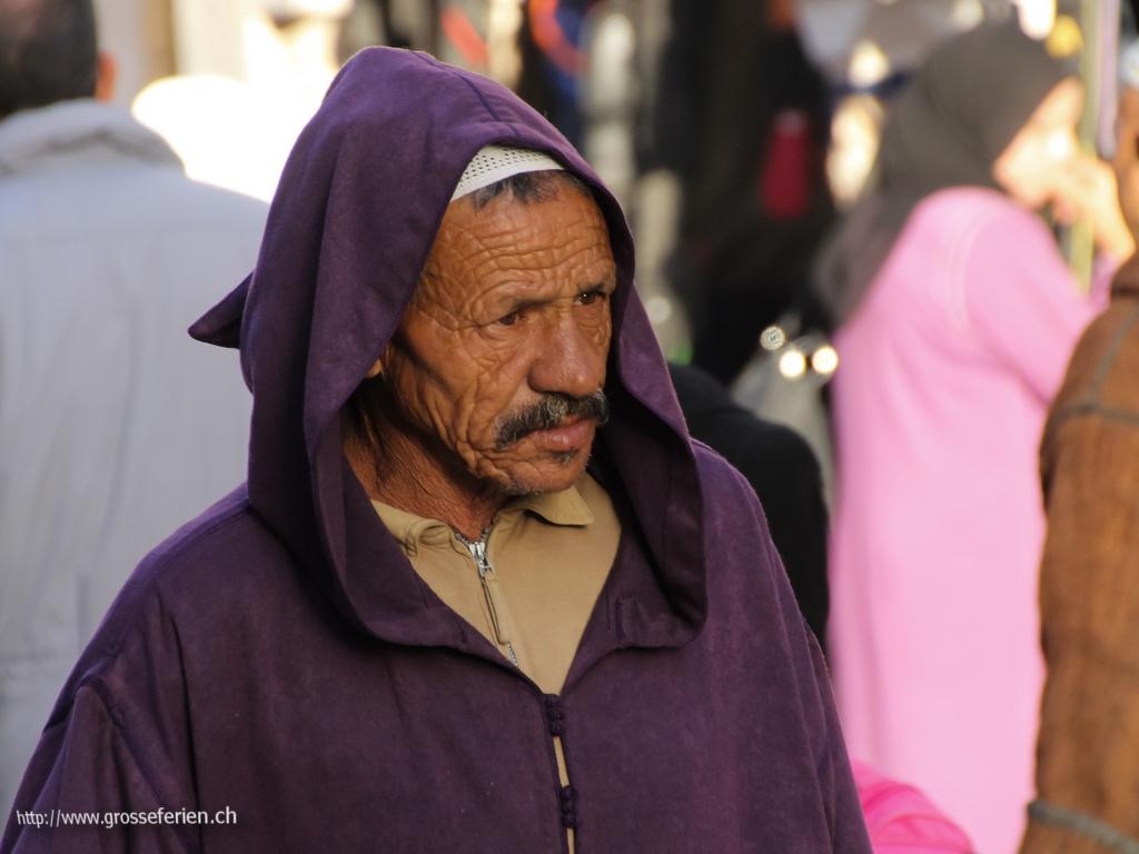Morocco, Essaouira, Man