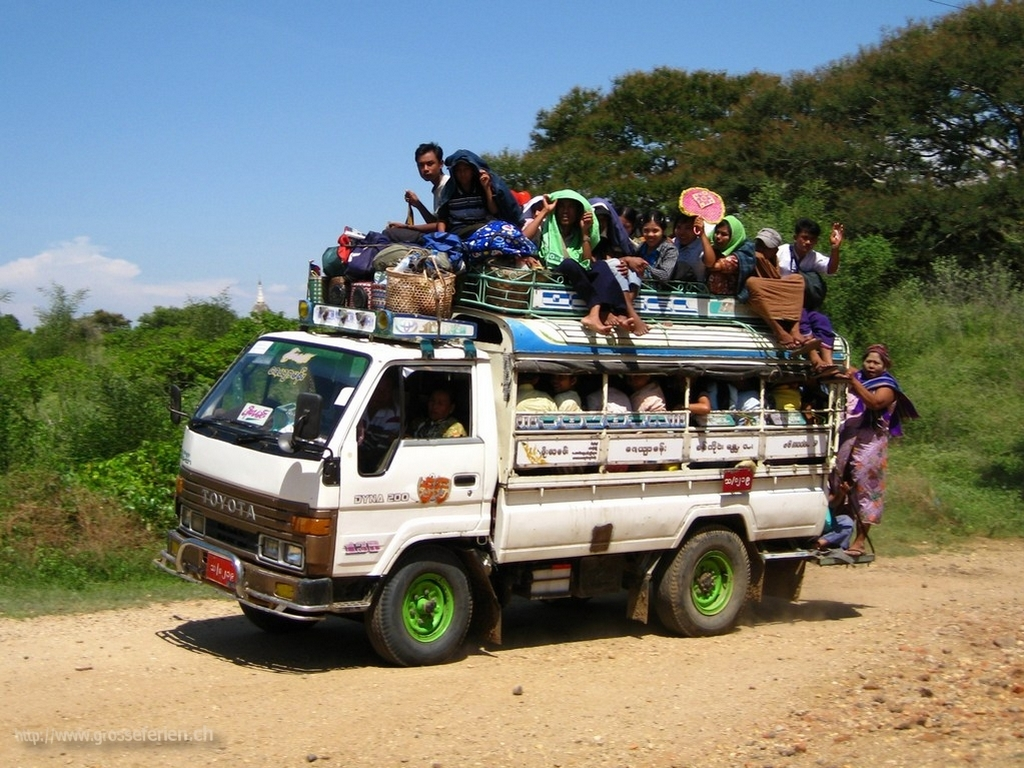 Myanmar, Bagan, Transport