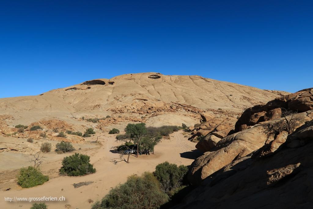 Namibia, Blutkuppe, Campground