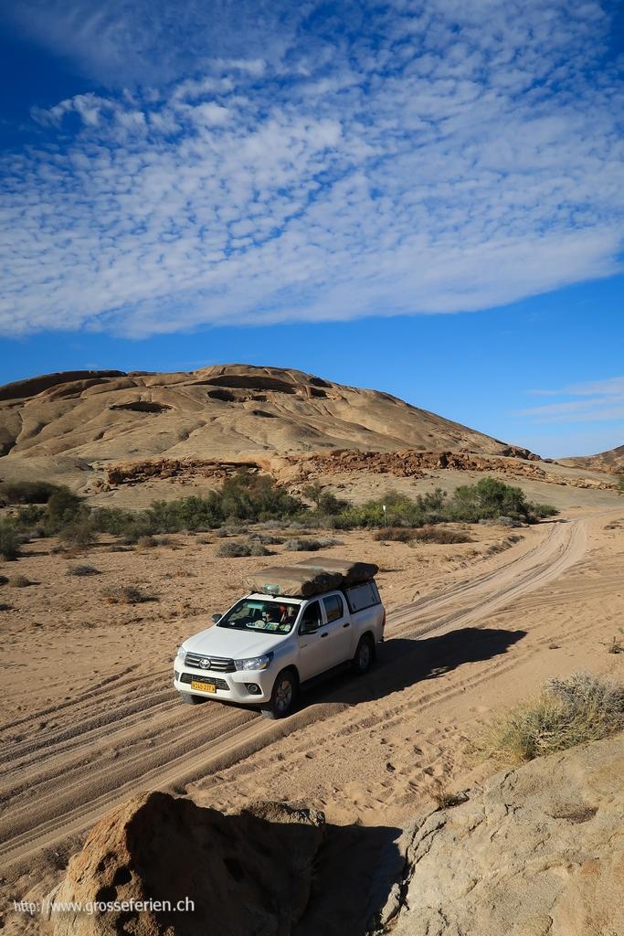 Namibia, Blutkuppe, Track