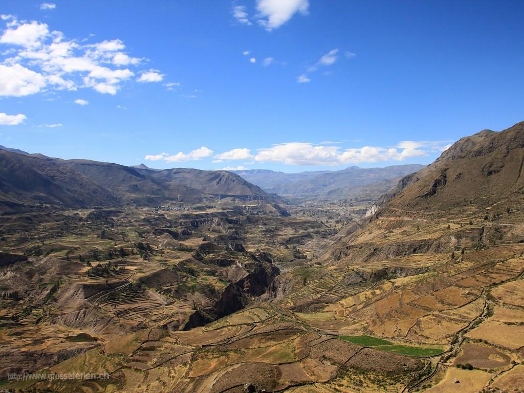 Peru, Colca Canyon, Landscape