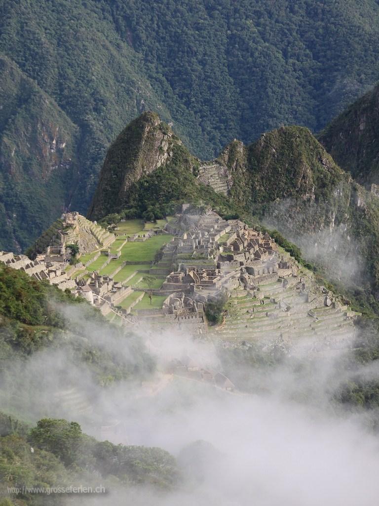 Peru, Machu Picchu, Ruins