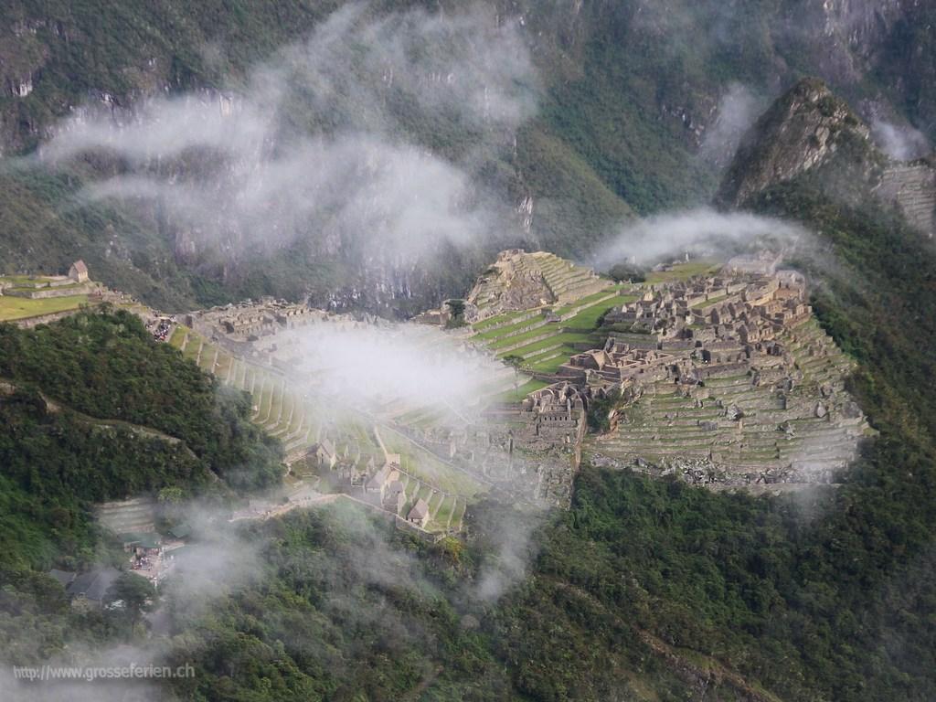Peru, Machu Picchul