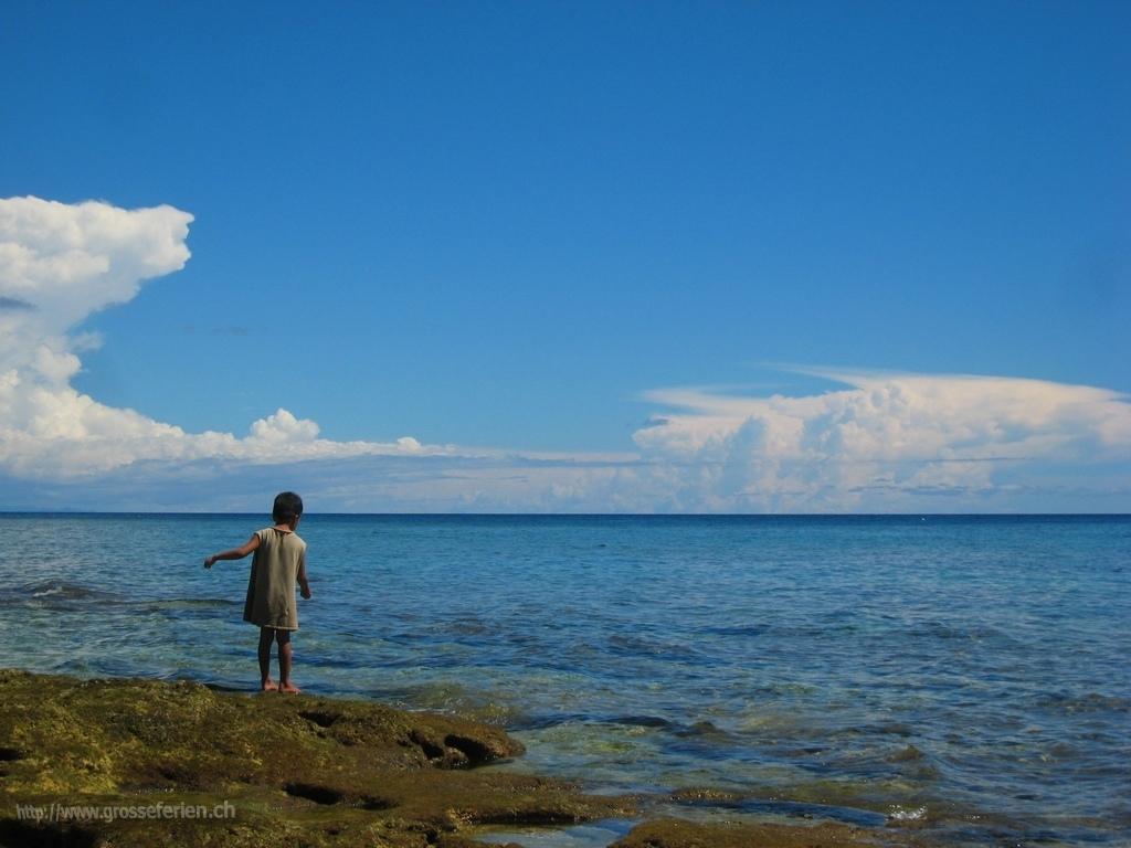 Phillippines, Apo Island, Child