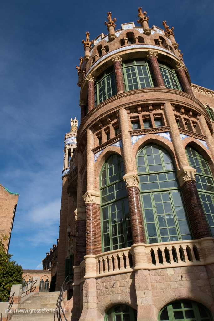 Spain, Barcelona, Hospital de Sant Pau