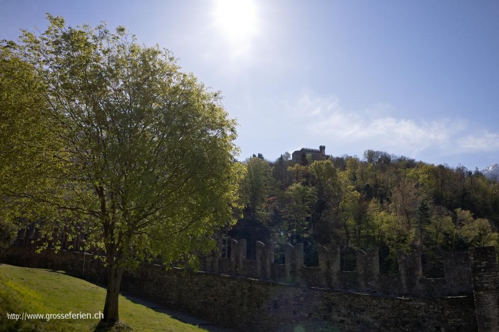 Switzerland, Bellinzona, Castel