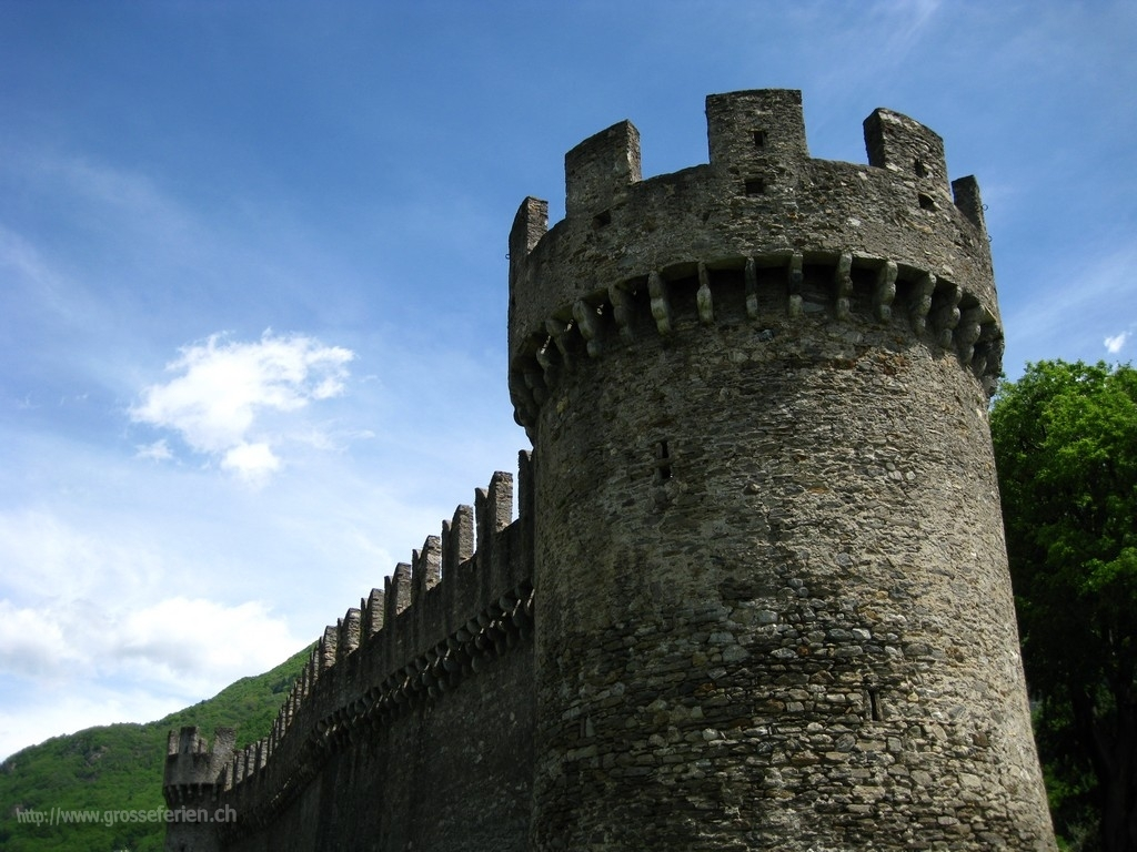 Switzerland, Bellinzona, Castle