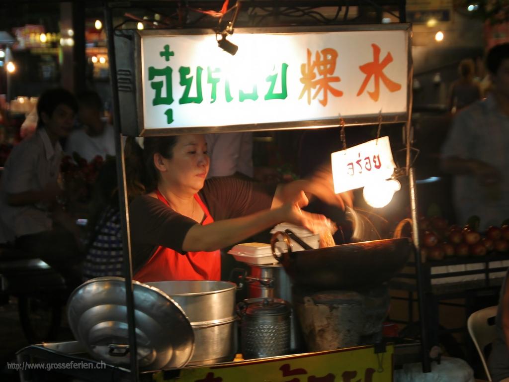 Thailand, Bangkok, Food Stall