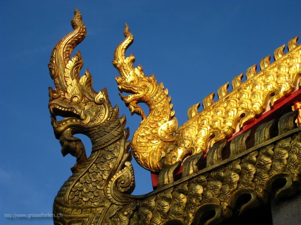 Thailand, Chiang Rai, Temple