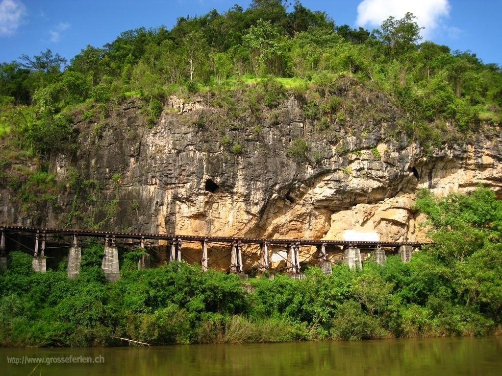 Thailand, Kanchanaburi, Death Railway