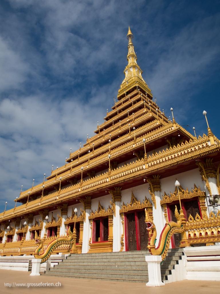 Thailand, Khon Kaen, Temple