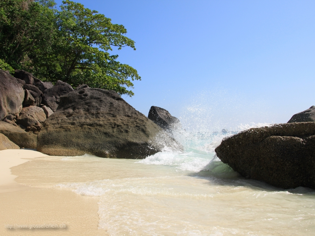 Thailand, Koh Similan, Beach