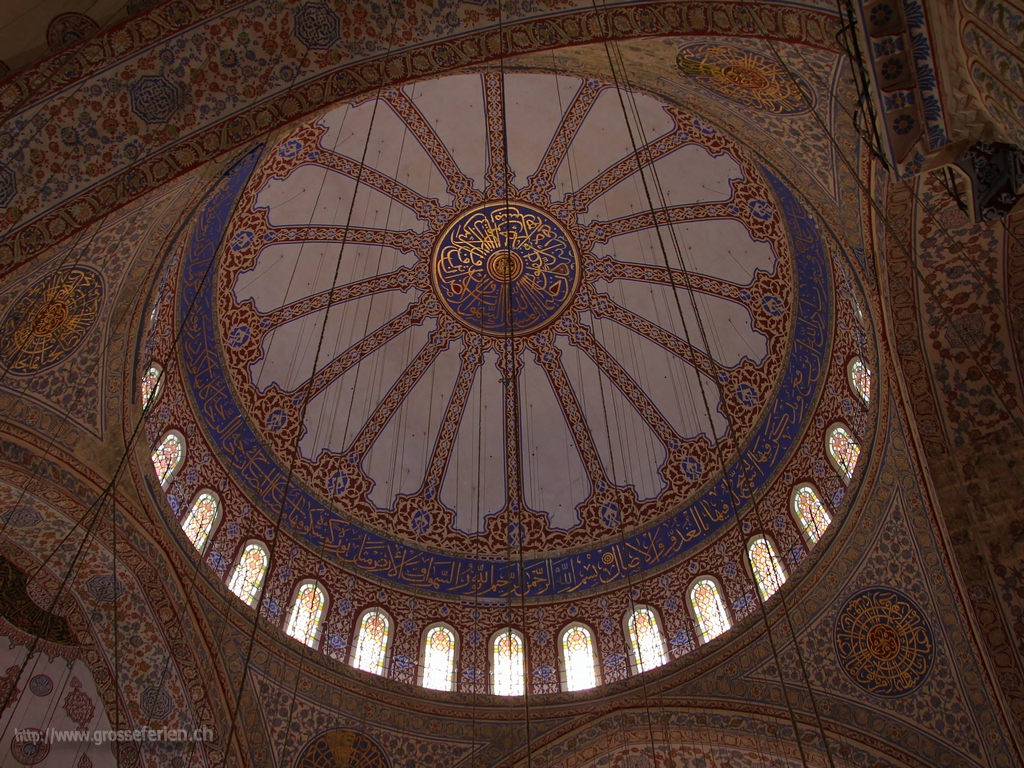 Turkey, Istanbul, Blue Mosk