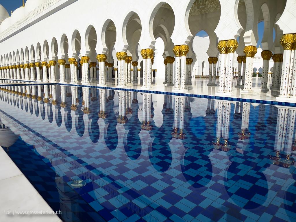 UAE, Abu Dhabi, Mosque