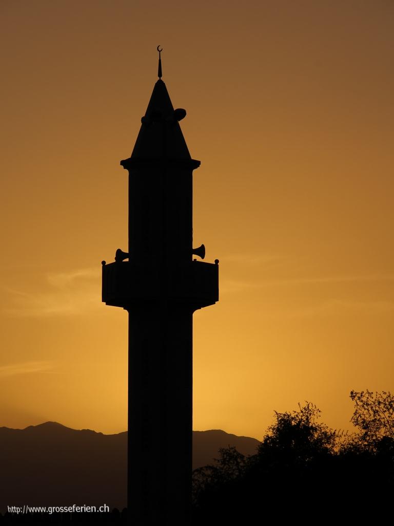UAE, Fujairah, Minaret