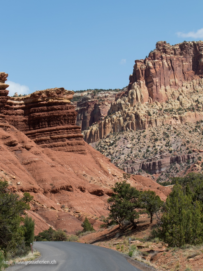 USA, Capital Reef, Landscape