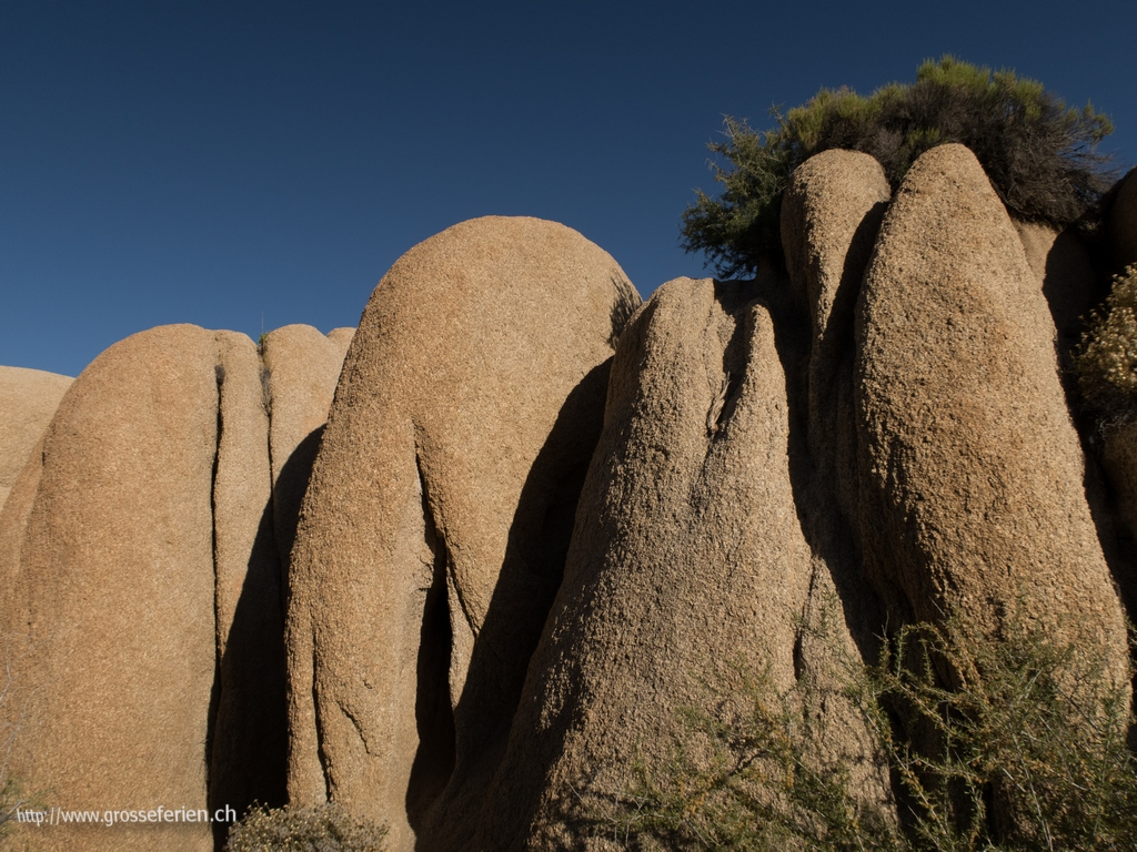 USA, Joshua Tree, Rocks