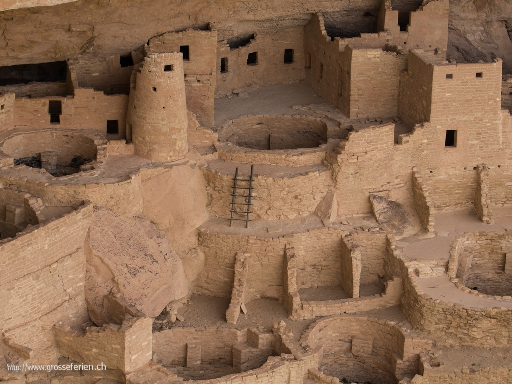 USA, Mesa Verde, Indian Housing