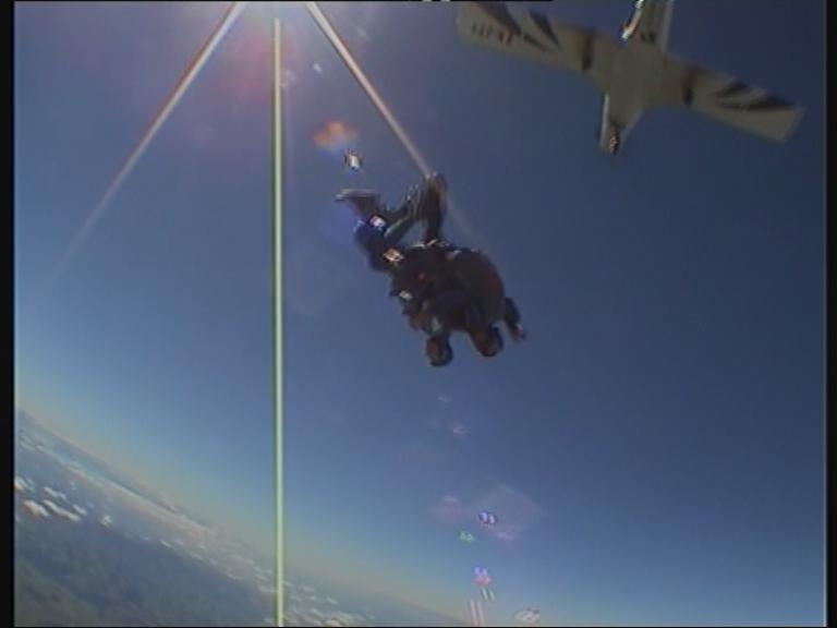 Schweiz, Beromünster, Skydive